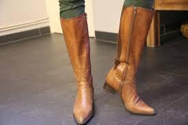 Entretien des bottes en cuir